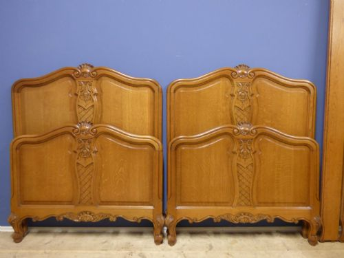 Vintage French Single  Beds - v62/63 - £175 each